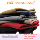 Tibetan 100% Yak Down Scarf Yak Cashmere Women Men Soft Warm Comfortable Scarf
