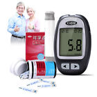 Intelligent medical Blood Glucose monitoring system meter 50 strips and Lancets