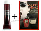 HALLOWEEN VAMPIRE FANGS CAPS TEETH PUTTY DRACULA HORROR FAKE BLOOD FACE MAKE UP