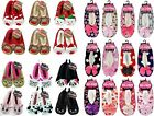 Ladies Co-Zees Sherpa Novelty 3D Animal Slippers Stocking Filler Christmas Gift