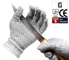 Safety Cut Proof Stab Resistant Stainless Steel Metal Mesh Butcher Gloves, S-XL