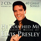He Touched Me CD The Gospel Music of Elvis Presley by Elvis Presley New Sealed