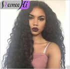 "Long Body Wave Human Remy Hair Front Lace  Wigs Full Lace Wigs 16"" 18"" 20"" 22"""