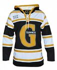 Guinness® Black and Gold Hooded Hockey Jersey