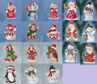 2016 JIM SHORE By Mill Hill WINTER SERIES Counted Cross Stitch Kits CHRISTMAS