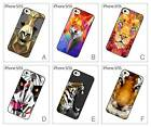Geometric Animals Face Head Hard Back Cover Case for iPhone 5 5S