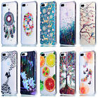 For iPhone 7 /7 Plus Glitter Drawbench Patterned Soft Plastic TPU Case Cover #L