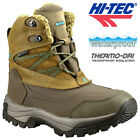 HI TEC LADIES LEATHER WATERPROOF WINTER WARM WALKING HIKING BOOTS SHOES SIZE