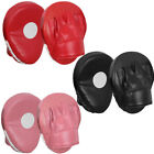 Curved Focus Pads Hook Jab Punch Bag Boxing Muay Thai MMA Hand Target Mitts USA