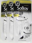 3 New Womens Footjoy SofJoy Golf Gloves LH,Multiple Sizes For Righties, Cabretta