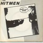 """HITMEN She's All Mine 7"""" VINYL B/W Slay Me With Your 45 (Pront01) Pic Sleeve"""