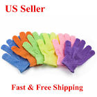 6/12/24Pairs Wholesale Exfoliating Spa Bath Gloves Shower Soap Clean Hygiene