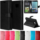 Luxury Flip PU Leather Wallet Card Holde Stand Case Cover For Samsung Galaxy