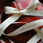 Personalized Eco Printed Ribbon for Wedding Decorations Favors Q56343