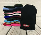 Babe Embroidered Cap Hip Hop Beanie Cuffed  - Multiple Colors