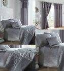 BOULEVARD DOVE GREY WITH VELVET BAND,LUXURY BED LINEN,QUILT/DUVET COVER SETS