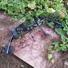NEW! 30-70lbs Black Compound Bow Left Right Hand Archery Hunting Target Bow