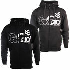 Gio Goi Lancer Mens Full Zip Hoodie Hooded Jacket