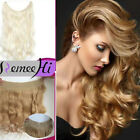 "16""-28"" 120g BODY  WAVE  HALO HUMAN HAIR SECRET WIRE NO CLIP HAIR  EXTENSON"