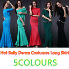 HOT New 2016 soft Modal Women Belly Dancing Costume Student Class Long Dress M L