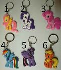 My Little Pony Rarity  Keyring / Key Charm - Different Styles or all 6
