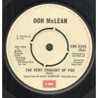 DON MCLEAN Very Thought Of You 7
