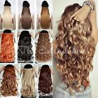 """SALE! UK SYNTHETIC Full head 5 Piece Clip-in Hair extension One-Piece 24"""""""