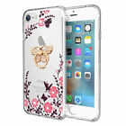360° Shockproof Full Screen Protector Flower TPU Case For iPhone 6S/ 7/8 Plus US