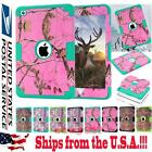 Shockproof Armor Tree Deer Camo TPU+PC Case Cover For Apple iPad Mini 1/2/3 4