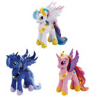 TY  MY LITTLE PONY SOFT TOY BEANIE - PRINCESS CELESTIA, CADANCE, LUNA 9&quot; (23CM)  <br/> CHOOSE FROM THE DROP DOWN MENU - COLLECT ALL OF THEM !!
