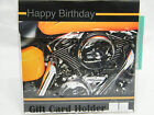 "HAPPY BIRTHDAY HARLEY MOTORCYCLE ""LEADER of THE PACK"" MUSICAL GIFT CARD HOLDER"