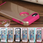 Hybrid Heavy Duty Protective Case Tough Armor Rubber Hard Cover For iPhone 5S SE