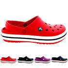 Unisex Womens Mens Crocs Crocband Summer Mules Slip On Clog Beach Shoe All Sizes