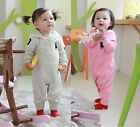 NWT Baby Boy Girl Hooded Romper Coverall Newborn/Infant Outfit Jumpsuit Bodysuit