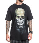 SULLEN ART USA ETERNAL SKULL MASK TATTOO ARTIST BLACK T SHIRT BIKER ROCK S-3XL