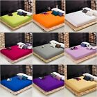Extra deep single double king super king size fitted sheet 16inch 40CM 41CM