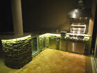 Outdoor Kitchen Island / grill LED lighting kit - with remote control