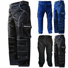"Cargo Work Trousers Pants Combat Cargo Working KNEE PADDED Waist 28"" to 62"""
