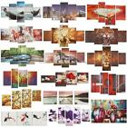 Colorful Abstract Flower Art Oil Canvas Painting Picture Print Set Decor Noframe