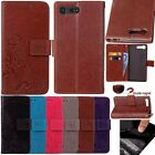 Flip Leather Wallet Cards Cash w/Strap Stand Case Cover F Sony Xperia X Compact