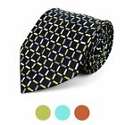 Checkered Square Pattern Casual Necktie (MPW5738)