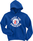 "Joel Embiid Philadelphia 76ers ""Trust Process"" jersey Hooded SWEATSHIRT HOODIE on eBay"