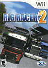Rig Racer 2 (Nintendo Wii, 2008) Great Shape FREE SHIPPING