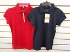 Girls Arrow Uniform Red or Navy Polo Shirts Size 6 7 16