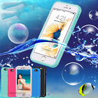 Waterproof TPU Case Shockproof Lifeproof Cover Skin For iPhone 7/6S/6/5S/SE