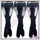 Womens Plus Size Jeans Bootcut Tattoo Ladies Trousers Big Size 14,16,18,20,22 UK