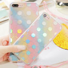 New Rubber Pattern Silicone Soft TPU Back Case Cover For Apple iPhone 7 7 Plus