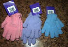 Blue Lavender Pink Kids Girls Womens Winter Gloves Snow Skiing Knit 7-14 NEW NWT
