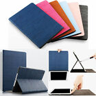 Luxury Solid Color Stand Flip PU Leather Case Smart Cover for iPad Air 1/2