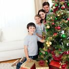 NEW! HOME ACCENTS HOLIDAY 6 FOOT Pre-Lit LIGHTED Artificial PINE CHRISTMAS TREE